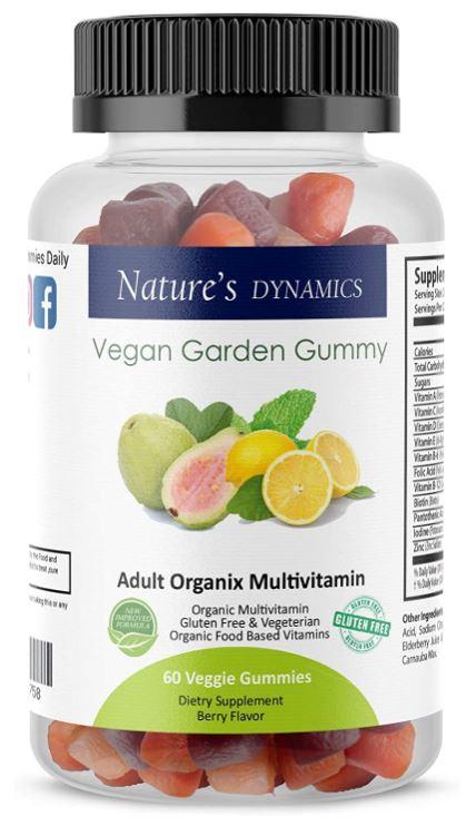 natures dynamics vegan garden gummy