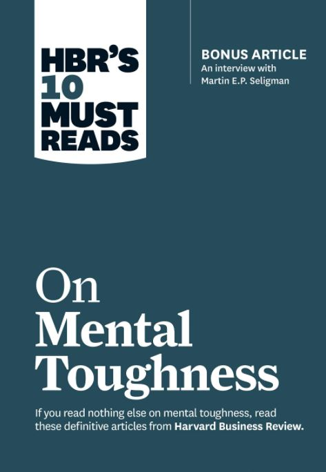 HBR's 10 must reads on mental toughness audiobook cover