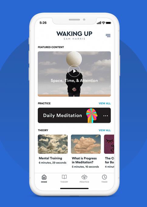waking up app