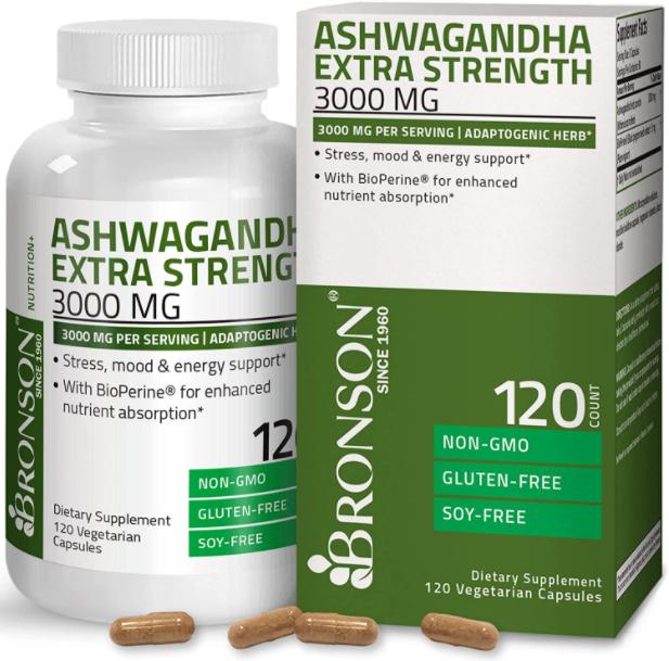 Bronson Ashwagandha Extra Strength